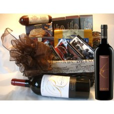 Corporate wine basket